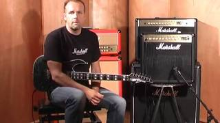 Marshall MG50FX Video mit Ralf Sommerfeld