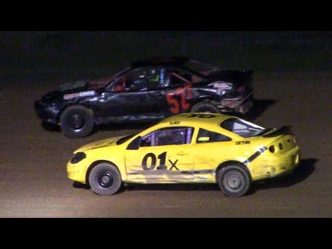 Mini Stock Heat Three | McKean County Family Raceway | 9-28-18