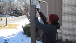 Trex Fencing Installation - Additional Video On Accommodating Slopes On Fence Line