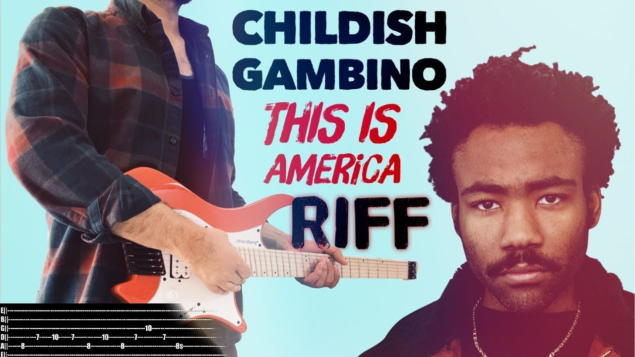 This Is America: Guitar Study: Childish Gambino