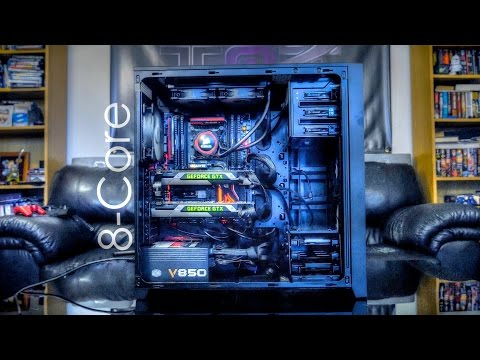 Epic 8-Core Dual GTX 780 Ti Gaming Build! (Intel I7-5960X)