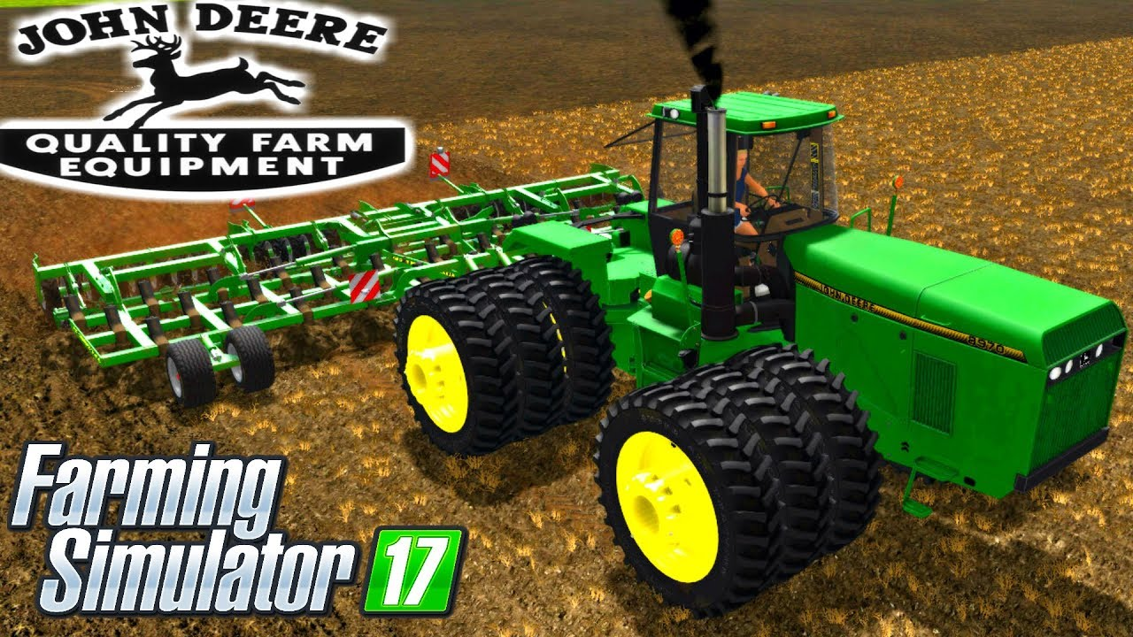 Farming Simulator 17 Mods Custom Modding John Deere 60/70 ...