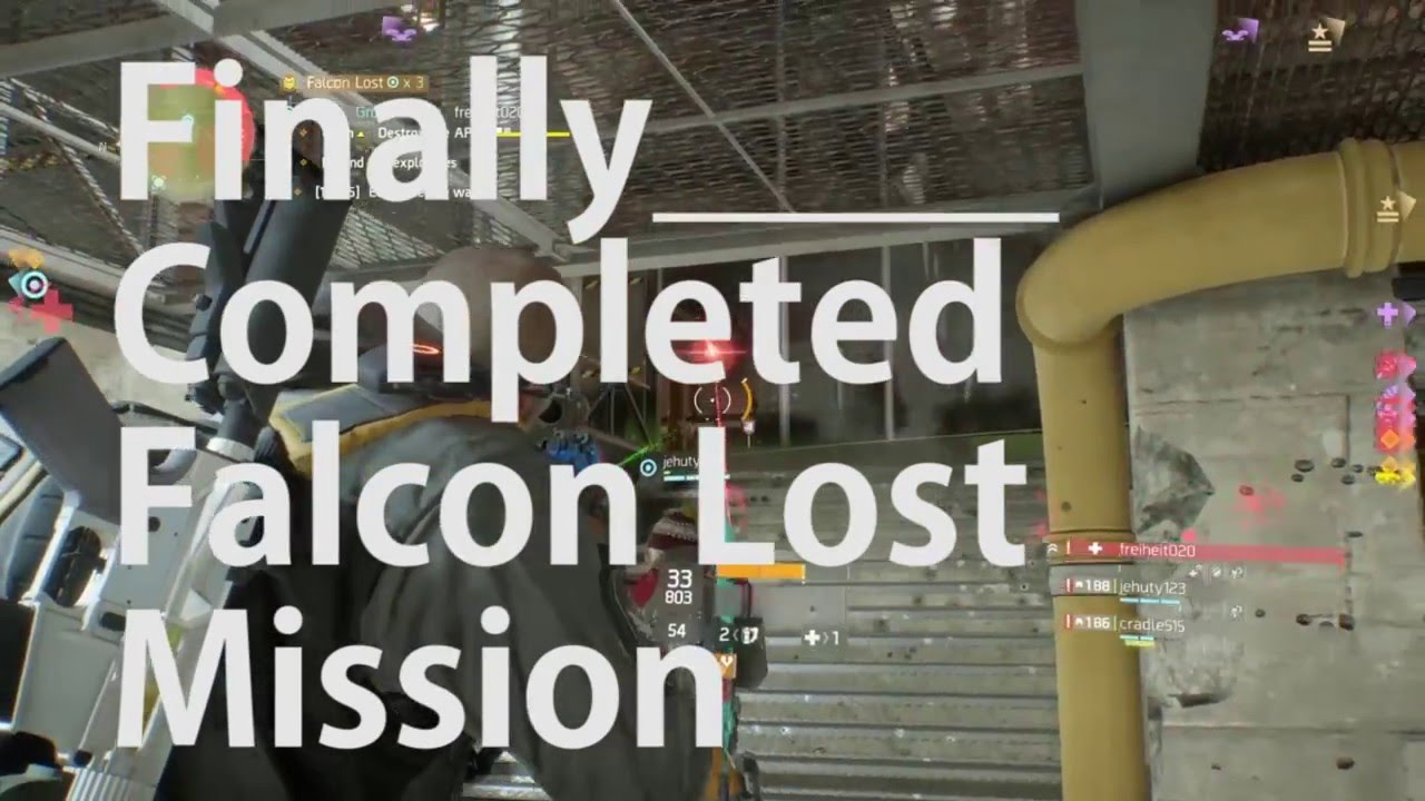 Falcon Lost Mission Complete: Finally - The Division