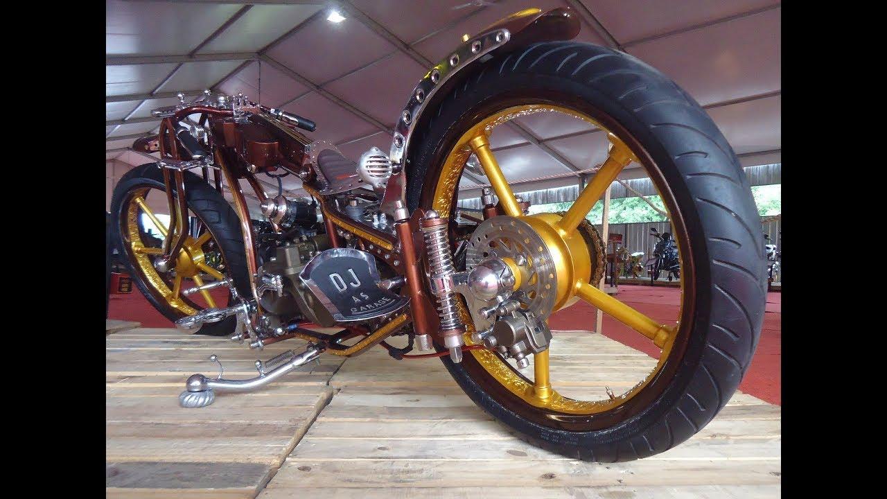 Modifikasi Motor Matic Jadi Harley Ottovariasi