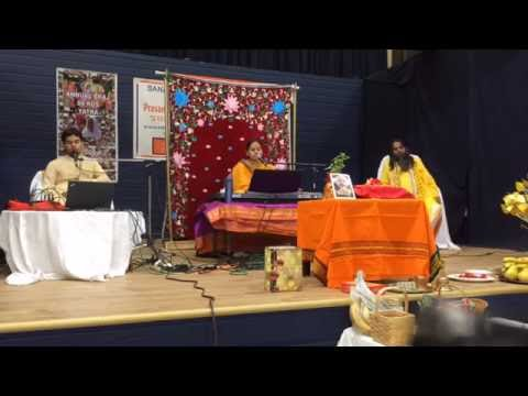 Murlika Ji in USA 2016 - Bhagwat Katha Sanatan Dharma Kentra San Jose CA Day 02 - July 25 Part 01