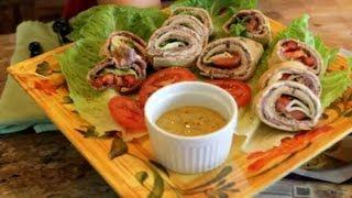 Roast Beef Pinwheels with Tortillas : Roast Beef Recipes