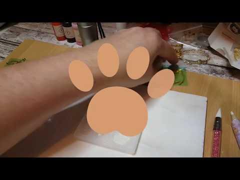 DIY Flatbacks, Katzenpfoten 🐾Pfote/Paw 🐾 Pixie Crafting Mold 🐾 Harz,Resin