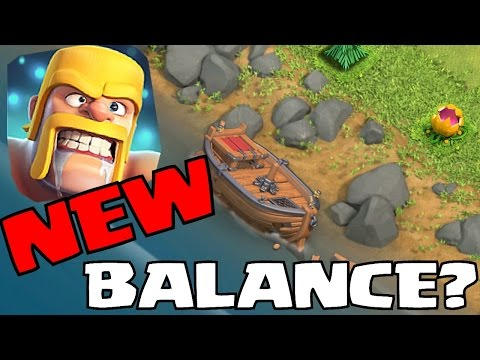 NEW BOAT UPDATE!! | NEW BALANCE CHANGES!! | Clash of clans