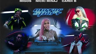 Motorsport by Migos, Nicki Minaj, & Cardi B is a disgrace to rap music