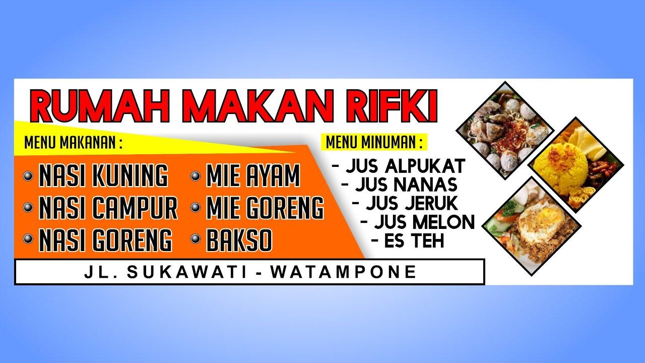 Contoh Desain Spanduk Nasi Kuning - gambar spanduk