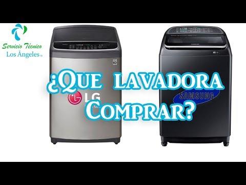 ¿Que Lavadora Debo Comprar LG O SAMSUNG?  Comparación