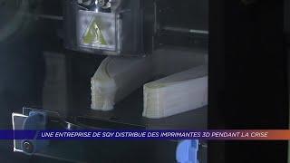 Yvelines | Une entreprise de SQY fournit des imprimantes 3D pendant la crise