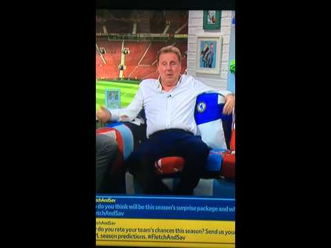 Harry Redknapp forgetting he is on live TV talking about the old days