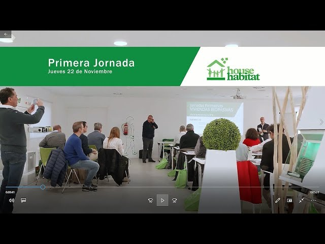 Jornadas formativas casas biopasivas