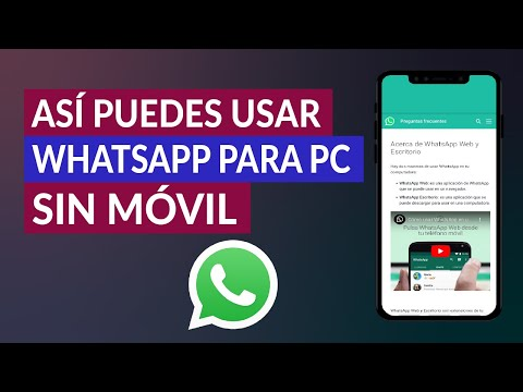 Así Puedes Usar WhatsApp para PC sin Móvil con Número Virtual Gratis