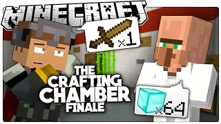 Minecraft | THE WORST VILLAGER TRADE EVER! | The Crafting Chamber Custom Puzzle Map [2]