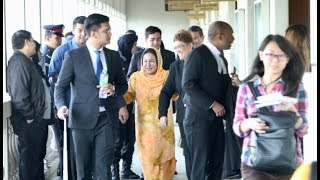 Rosmah's money laundering cases set for trial early next year