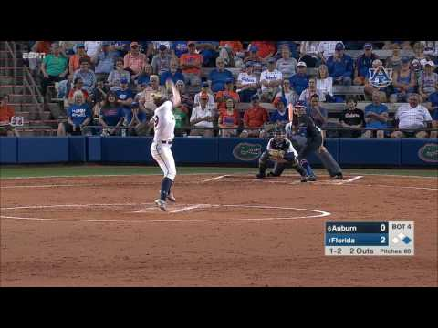 Auburn Softball vs Florida Game 2 Highlights
