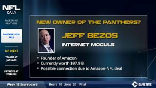 Carolina Panthers New Owner Options - P. Diddy, Michael Jordan, and Mark Zuckerberg