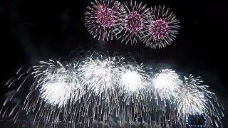 2015서울세계불꽃축제. 한국팀(한화)공연. 두고 볼만한 불꽃놀이. 해상도 높여서 볼 것.. 뒤로 갈수록 대박...