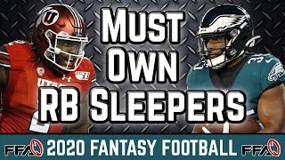 2020 Fantasy Football Advice: Must Own Running Back SLEEPERS