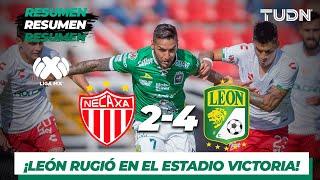 Resumen y Goles | Necaxa 2- 4 León | Liga MX - AP 19 - J10 | TUDN