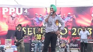Mehtab Virk at PPU Hisar
