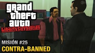 GTA Liberty City Stories - Misión #25 - Contra-Banned (Español/Sin Comentario - PCSX2)