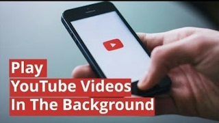 How to run or play youtube at background easily