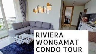 Riviera Wongamat Beach Pattaya | Condo Tour