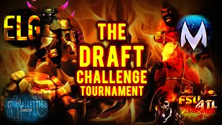 The Draft Challenge Tournament | The Final - Matty vs Epic | YouTuber Collab in Clash of Clans