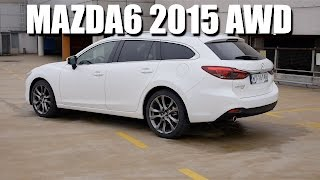 Mazda6 AWD 2015 FL (ENG) - Test Drive and Review