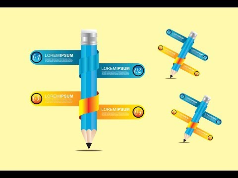3D Infographics Design in CorelDraw x7 tutorial#6 with AS GRAPHICS