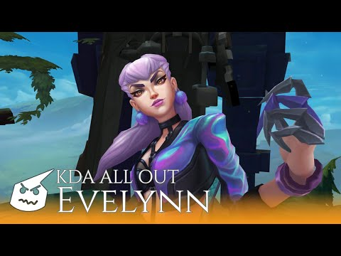 K/DA ALL OUT Evelynn.face