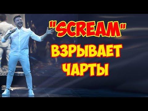 """Песня Лазарева """"Scream"""" взрывает чарты"""