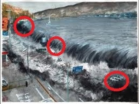 Top 5 Biggest Tsunami Caught On Camera Youtube