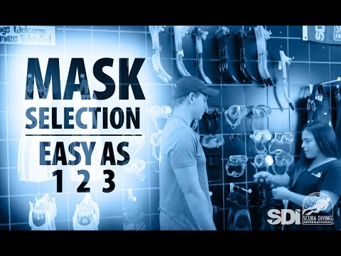 Mask, Snorkel & Fins | Mask Selection: Easy as 1-2-3