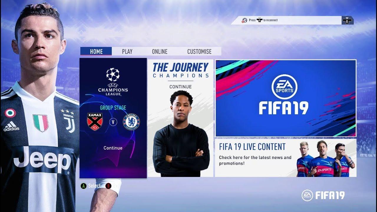 FIFA 19 SAVE DATA 100%