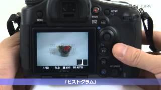 ソニー デジタル一眼カメラ α aマウント slt a99v α99 シリーズセットアップ動画ガイド