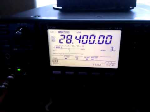 Malfeasance on 10 meter calling frequency