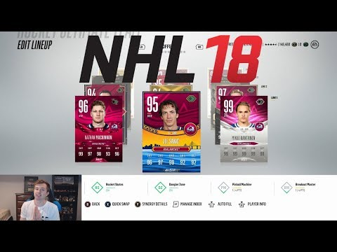 NHL 18 HUT - ALL TIME COLORADO AVALANCHE TEAM BUILD