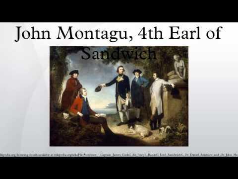 John Montagu, 4th Earl of Sandwich