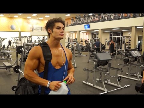 Full IFBB Pro Chest & Triceps Workout w/ Jeff Seid