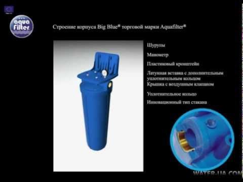 Фильтр для воды Aquafilter Big Blue