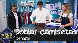 Alex Márquez demuestra su dominio doblando camisetas con el truco de Marta Hazas - El Hormiguero 3.0