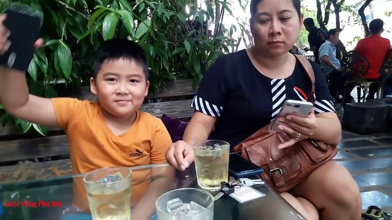 ♥ Cuộc Sống Phú Yên: Vi Vu Ngày Hè Cùng Bé Tony Tại Cà phê Lâu Đài Đá (Stone Castle cafe)