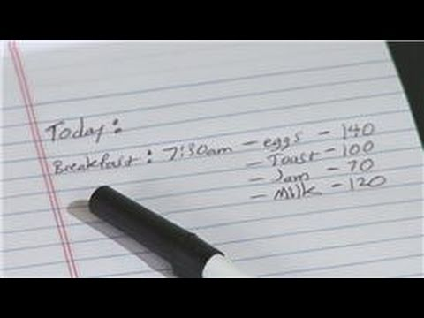Calculating For A Healthy Diet : How To Count Caloric Intake