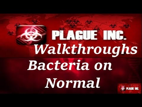 Plague Inc - Bacteria Normal Walkthrough the Fast Way