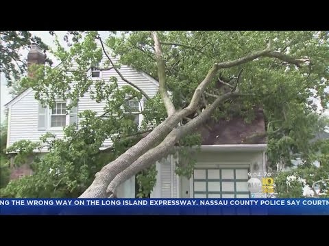 New Jersey Gets Hit With The Brunt Of The Storm