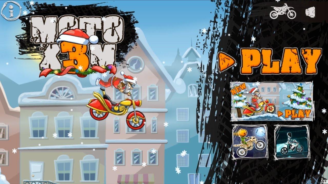 download moto x3m bike race game mod apk